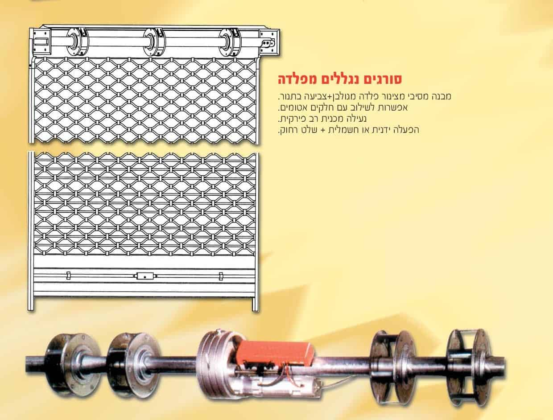 מפוארת תריס גלילה לחנות - סגנון - פרזול דקורטיבי, נגללים ושערים חשמליים CR-24